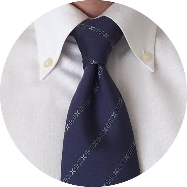 ネクタイの結び方・ハーフウインザーノット