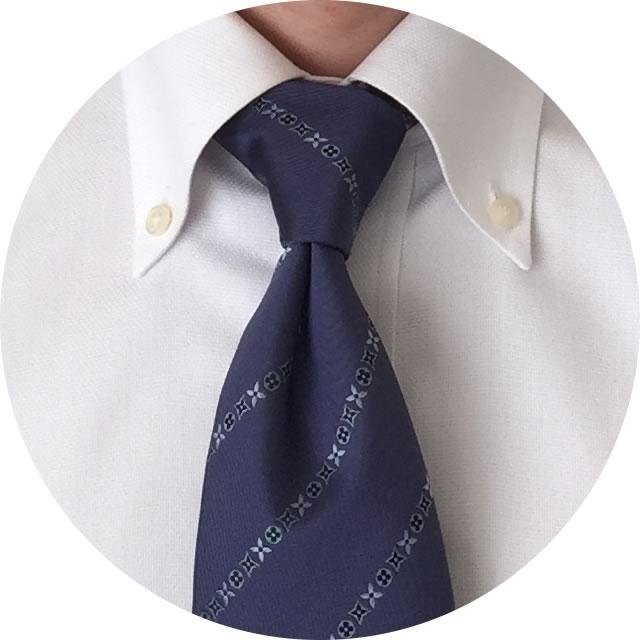 ネクタイの結び方・スモールノット