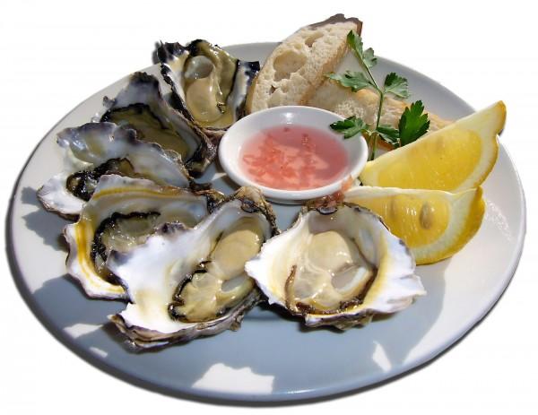 牡蠣(亜鉛を多く含む食品)
