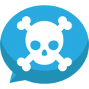 Jolly-roger-bubble-chat-icon