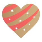 Golden-heart-icon