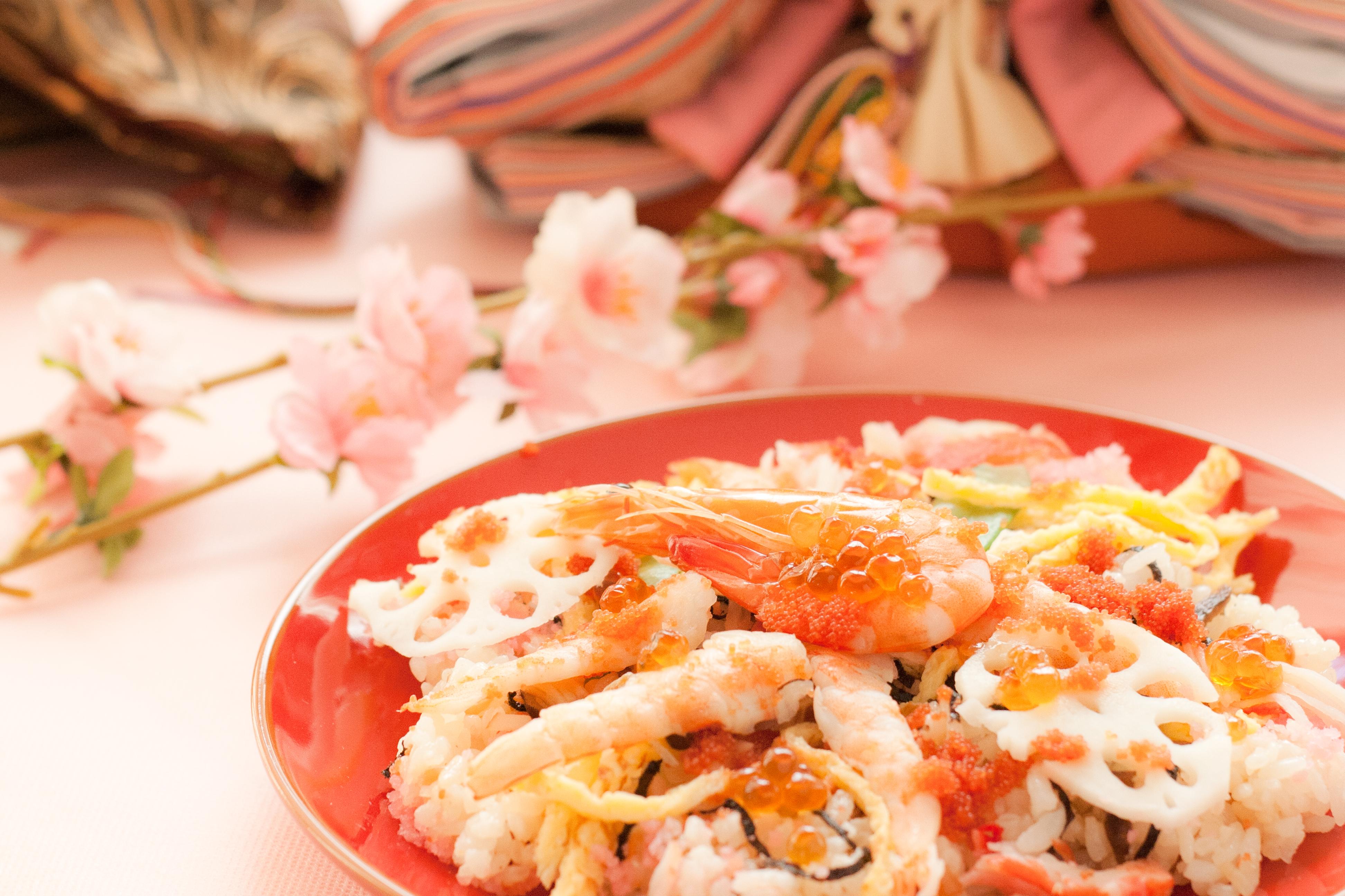 働くママの時短レシピ!ひな祭り「ちらし寿司」