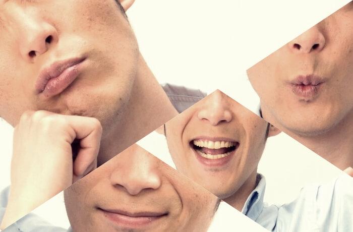 口の動きや形から相手の心理を読む!口のしぐさでわかる表情心理12個